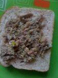 canned sardines sandwich