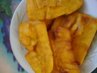 How To Fry Green Plantains Jamaican Style Jamaican Cookery