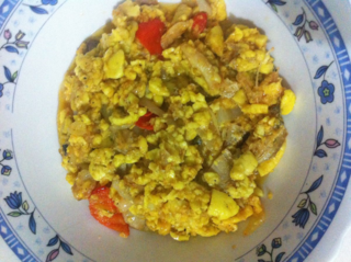 Jamaican ackee and salt fish