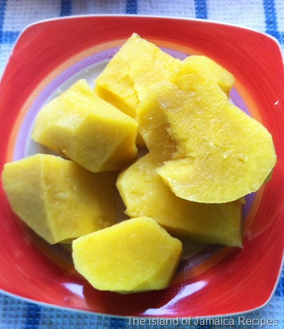 How To Cook Jamaican Pum Pum Yam Jamaican Cookery