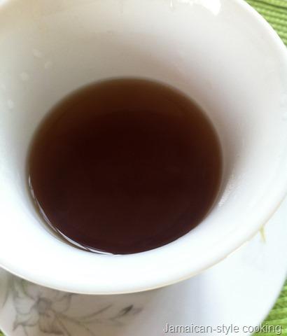 oregano herb tea