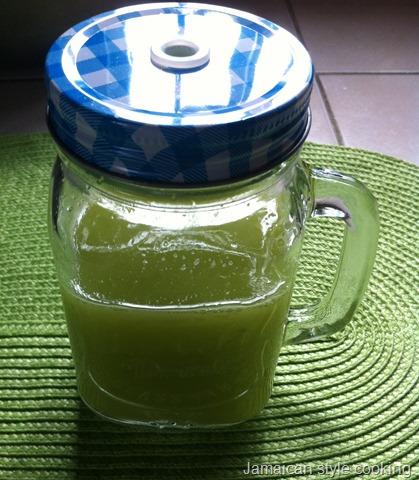 celery drink