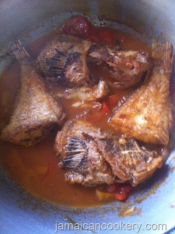 cooked lionfish