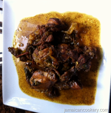 curry stew chicken