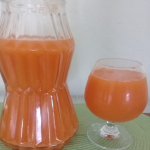 Jamaican carrot ginger juice