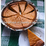 Jamaican sweet potato pie