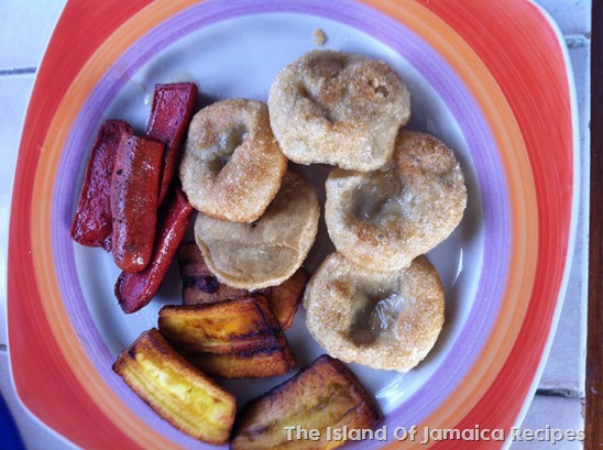 Fried Boiled Dumplings Jamaican Breakfast Angie Can Cook