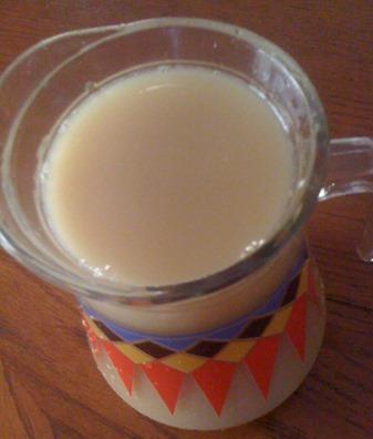 Jamaican ginger beer drink