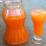 Fresh fruits and vegetable drink recipe