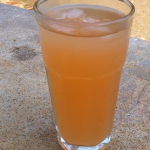 Jamaican cherry pineapple drink