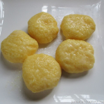 Jamaican cornmeal dumpling without flour