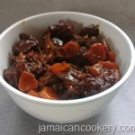 Jamaican brown stew beef