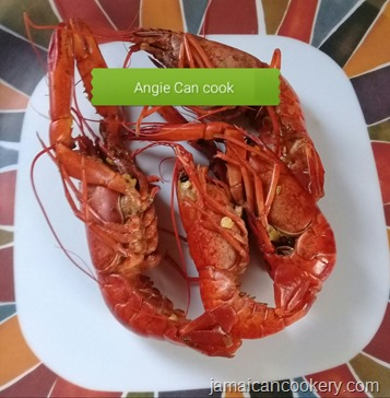 jamaican peppered shrimp
