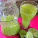 Cucumber drink Recipe