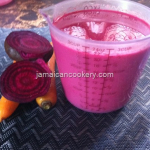 Jamaican Beetroot and carrot drink Recipe