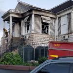 Fire at Mandeville Parish Court