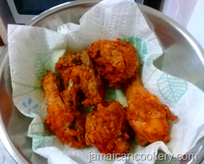 Jamaican original fried chicken