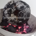 How to roast breadfruit on an open fire Jamaican style