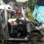 Four persons die in Trelawny crash