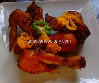 Jamaican fry chicken