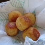 Ripe plantain fry dumplings recipe