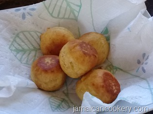 sweet plantain puff puff