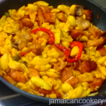 Ackee and chicken Jamaican style recipe