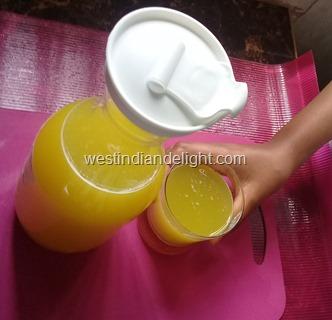 pineapple cucumber drink