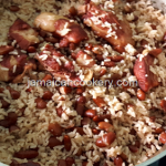Jamaican rice and peas with pigtail recipe