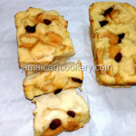 Quick bread pudding Jamaican style