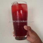 Sorrel cranberry cooler