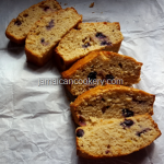 Super moist blueberry banana bread| Jamaican cookery
