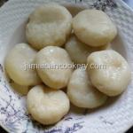 Jamaican cassava dumplings