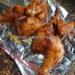 Roast chicken Jamaican style