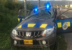 Jamaica  police car