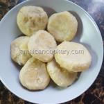 Jamaican corn dumplings