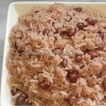 Peanut rice Jamaican style