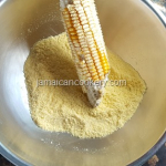 How to make cornmeal from corn Jamaican style